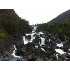 Путешествие по Горному Алтаю, водопад Учар